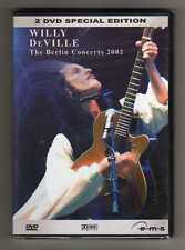 Willy DeVille - THE BERLIN CONCERTS 2002 - 2 DVD SPECIAL EDITI - SIGILLATTO MINT