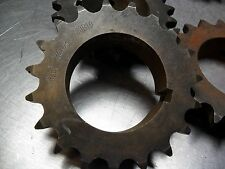 "MARTIN Roller Chain Sprocket 50B19 5XE  NEW 19 teeth 2-1/4"" Keyed Bore"