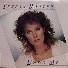 TERESA WIATER: Undo Me-M1978LP LUTHER VANDROSS EMBOSSED COVER PROMO COPY