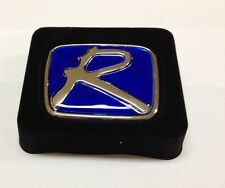"BLUE ""R ""HONDA EMBLEMS BADGE JDM CIVIC SI ACCORD HONDA INTEGRA TYPE R H LOGO"