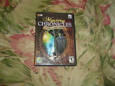 Mystery Chronicles - Murder Among Friends  (PC, 2009) Rated T for Teen