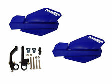 Powermadd Trail Star Series Handguards Guards Blue Snowmobile Ski Doo Summit XP