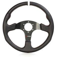 VOLANTE, carbonio, camoscio, piatta, sport volante, Rally, Racing, Motorsport