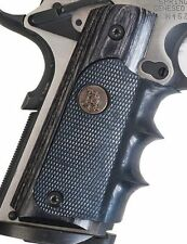 Pachmayr American Legend Grip for Full Size 1911 Pistols Charcoal Silvertone