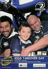Leinster v Ospreys Magners League 16 Apr 2010 RDS, Dublin RUGBY PROGRAMME
