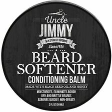 Uncle Jimmy Beard Softener Conditioning Balm 2 oz (Pack of 3)
