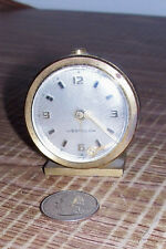 Vintage Westclox German Alarm Clock Small Tiny Portable Travel Germany Old