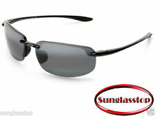 Maui Jim Sunglasses 407-02 Hookipa Black Frame / Grey Polarized Lens Ho'okipa