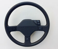 "STEERING WHEEL, 15"" dia., black, used, cruise switches, '86-'89 Acura Integra"