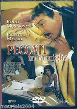 Peccati in Famiglia (1975) DVD NUOVO Renzo Montagnani Michele Placido Jenny Tamb