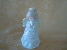"""PRECIOUS MOMENTS ENESCO """"Heavenly Blessings Shine So Bright"""" Angel Candle Holder"""