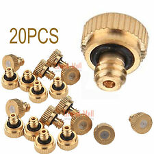Orbit Brass & Stainless Steel Mist Misting Nozzles For Outdoor Cooling System