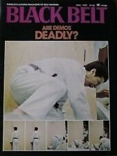 12/75 BLACK BELT MAGAZINE BOW SIM MARK KARATE KUNG FU MARTIAL ARTS AIKIDO JUDO