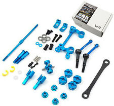 Yeah Racing TAMC-S02BU Drivetrain And Steering Upgrade Kit For Tamiya M05 M06