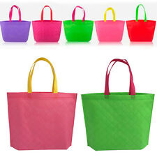 Women Reusable Fabric Shopping Shoulder Bag Women Handbag Beach Bag Tote New