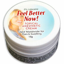 Feel Better Now 15G Topical Anesthetic permanent Makeup cream tattoo Numbing kit
