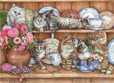 ANATOLIAN JIGSAW PUZZLE KITTENS DEBBIE COOK 1000 PCS CATS #3158