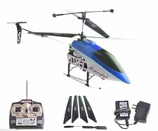 2 Speed GT QS8005 3.5 Ch RC Helicopter Builtin GYRO NEW VERSION Blue New