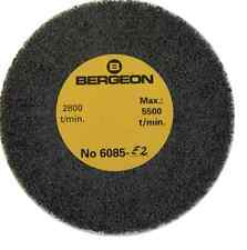 Bergeon 6085-E2 Fine Abrasive Satin Metal Finishing Wheel Watches - TM582