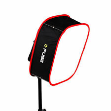 "D-FUSE Instant Pop Up Collapsible Softbox Diffuser L 12"" for 1x1 LED light panel"
