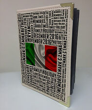 "Personalised 7x5"" x 36 photo album, memory book, Italy holiday honeymoon"