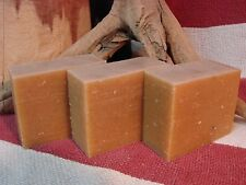 Handmade Yogurt, Honey, Almond & Oatmeal Soap! 4.5 oz Homemade Soap Bar!