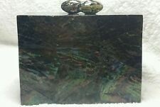 Cultured Mother of Pearl Clutch Bag/Purse ( Handcrafted)