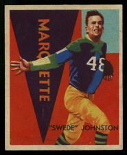 1935 NATIONAL CHICLE FOOTBALL~#32~SWEDE JOHNSTON~GREEN BAY PACKERS~WELL CENTERED