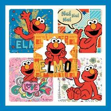 16 Elmo Stickers Sesame Street Party Favors