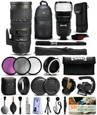 Sigma 70-200mm F2.8 EX DG OS APO HSM Lens for Nikon + All You Need Accessory Kit