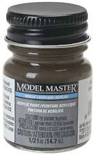 Testors Model Master Flat Railroad Tie Brown 1/2 oz Acrylic Paint 4885 TES4885