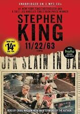 11/22/63 by Stephen King (2016, MP3 CD, Unabridged)
