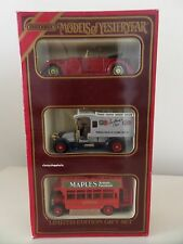 Matchbox Models of Yesteryear LIMITED EDITION GIFT SET Omnibus Renault & Lagonda