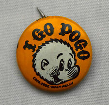 VTG 1950's I Go Pogo Political Satire Comic Pinback Button Pin Badge Walt Kelly