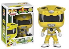 Power Rangers ¡ Pop! Figura De Vinilo - Mighty Morphin Amarillo Ranger NUEVO