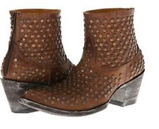 Old Gringo Viruela Studded VINTAGE Sintino Brown Western Boots 5.5 Womens