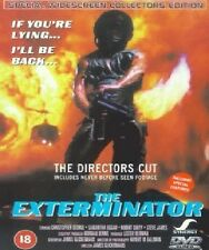 The Exterminator DVD Robert Ginty Samantha New and Sealed Original UK Release R2