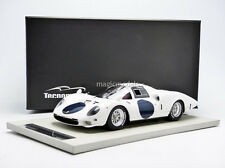 Tecnomodel Ferrari 365 P Elephant White Press 1966 1/18 LE of 100 New!