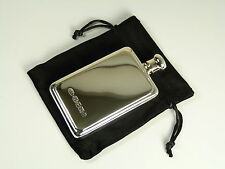 NEW - Solid Silver - HIP FLASK & FUNNEL - Small Size - Boxed