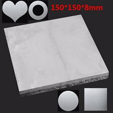 150x150x8mm ALUMINUM 6061 Flat Bar Metal Plate Sheet 8mm Thick Cut Mill Stock