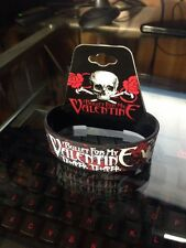 Bullet for My Valentine Temper Temper Wristband. Original with Tag.