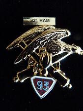 INSIGNE MILITAIRE Pucelle Armée Arthus Bertrand 93° RA ARTILLERIE aigle