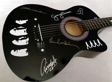 THE BEATLES Limited Editon Tribute Acoustic Guitar (black) - NEW!