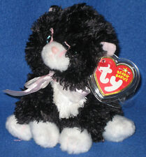 TY CABARET the BLACK CAT BEANIE BABY - MINT with MINT TAGS