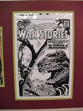 Original Production Art Andru & Esposito Star Spangled War Stories #99 w/book