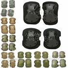 Adjustable Airsoft Tactical Combat Protective Knee and Elbow Pad Skate UK