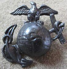WWI US ARMY USMC MARINE EAGLE GLOBE & ANCHOR EGA CAP COLLAR INSIGNIA PIN