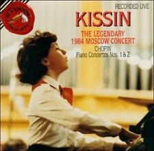 Kissin: Chopin Piano Concertos 1 & 2, 1984 Moscow Concert (CD, BMG, RCA)