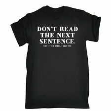 DONT READ THE NEXT SENTENCE YOU LITTLE REBEL T-SHIRT funny birthday gift 123t