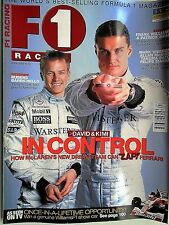 F1 racing magazine april 2002  features lots to read about etc free p&p to uk